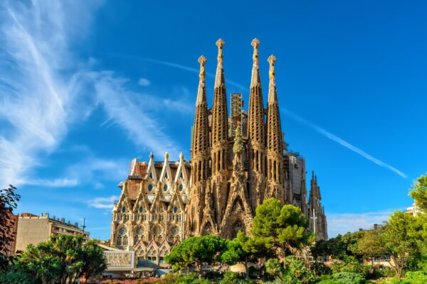 Sagrada Familia Barcellona vista completa