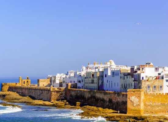 View of cityscpe of Essaouira in Morocco